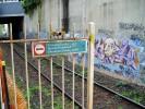 Elsternwick Station Barricade